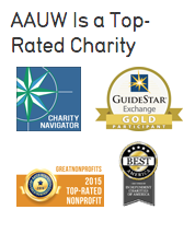 aauw is a top-rated charity